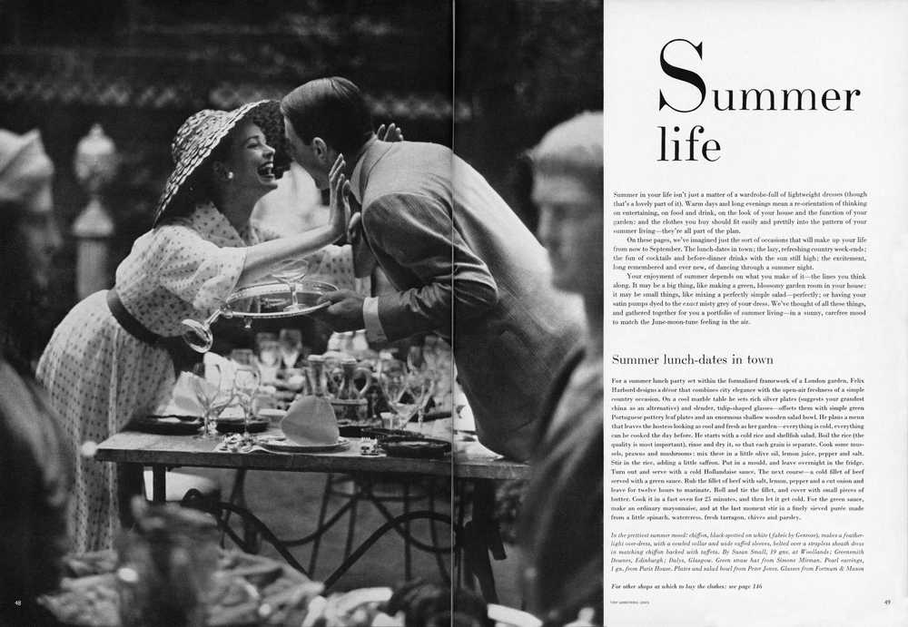 Summer Life by Snowdon (c) The Conde Nast Publications Ltd