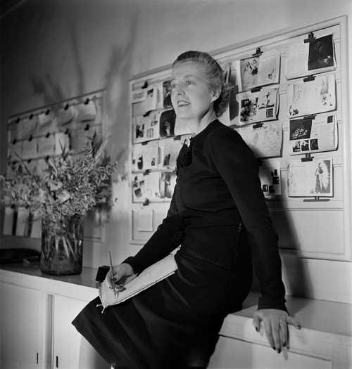 Audrey Withers by Parkinson 1944 (C) Norman Parkinson Archive