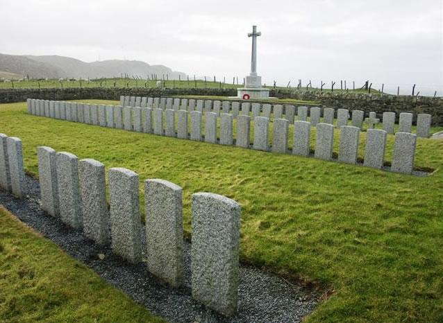 Kilchoman Military Cemetery on the Isle of Islay © CWGC