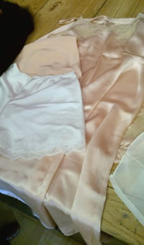Utility Underwear from a wartime collection belonging to Eve Davies