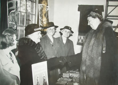 Mrs Roosevelt meets the WI