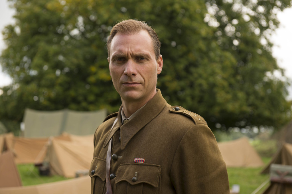 ITV STUDIOS PRESENTS HOME FIRES SERIES 2 Pictured: ALEXANDRE WILLAUME as Marek. This image is the copyright of ITV and must only be used in relation to HOME FIRES SERIES 2.