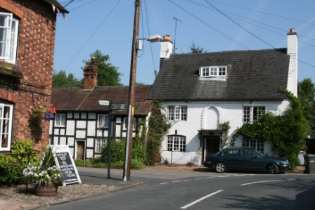 Bunbury - the ancient Cheshire village that became Great Paxford
