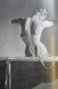 Vogue corset cropped