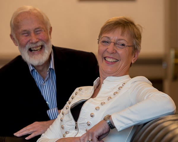 Sir Chris Bonnington and Julie Summers